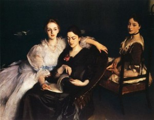 John Singer Sargent, The Misses Vickers