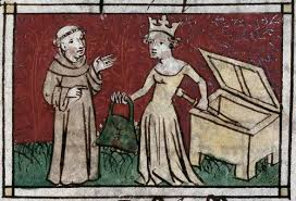 """A lesser known illustration of the adage """"Steal my handbag and I'll cut off your head'."""