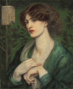 Rossetti's Jane Morris looks about right