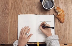 writing-in-a-notebook