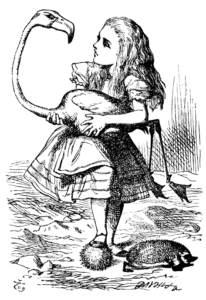 John Tennial's wonderful Alice